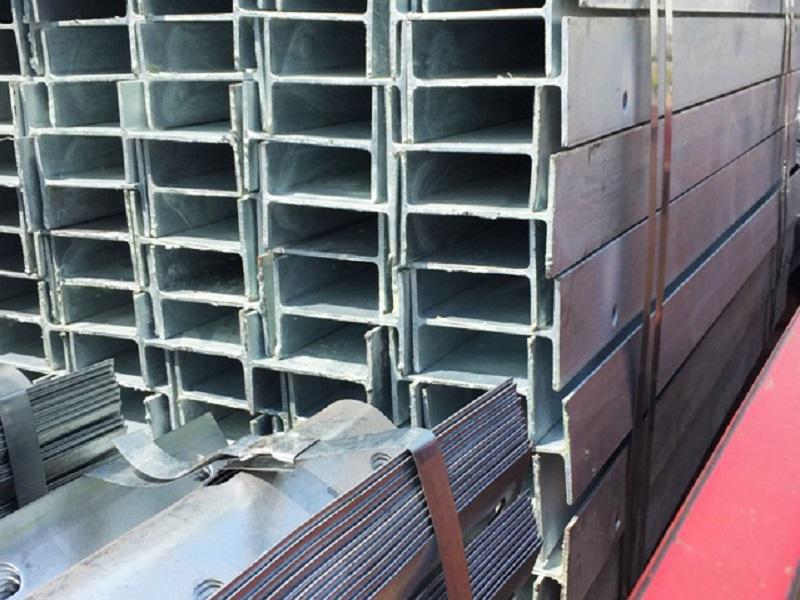 Ограждения для автомагистралей A36 Steel I Beam W6 * 9 Post